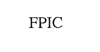 mark for FPIC, trademark #76304086