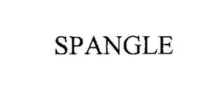 mark for SPANGLE, trademark #76305725
