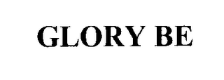 mark for GLORY BE, trademark #76306991