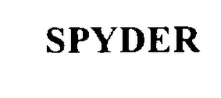 mark for SPYDER, trademark #76307815