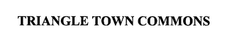 mark for TRIANGLE TOWN COMMONS, trademark #76309231