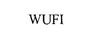mark for WUFI, trademark #76309968