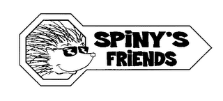 mark for SPINY'S FRIENDS, trademark #76311093