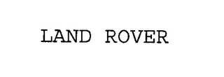 mark for LAND ROVER, trademark #76311259
