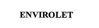 mark for ENVIROLET, trademark #76311578