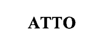mark for ATTO, trademark #76312590