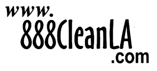 mark for WWW.888CLEANLA.COM, trademark #76312895