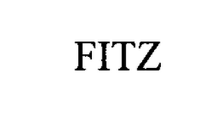 mark for FITZ, trademark #76313293