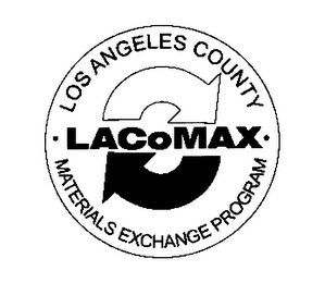 mark for LACOMAX LOS ANGELES COUNTY MATERIALS EXCHANGE PROGRAM, trademark #76313583