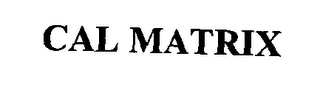 mark for CAL MATRIX, trademark #76313588