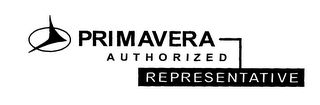 mark for PRIMAVERA AUTHORIZED REPRESENTATIVE, trademark #76314034