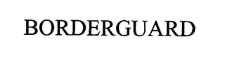 mark for BORDERGUARD, trademark #76314045