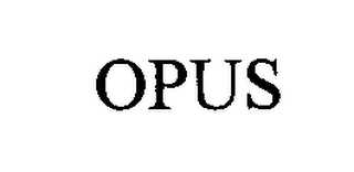mark for OPUS, trademark #76314473