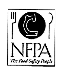 mark for NFPA THE FOOD SAFETY PEOPLE, trademark #76315613