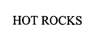 mark for HOT ROCKS, trademark #76317658
