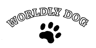 mark for WORLDLY DOG, trademark #76319157