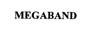 mark for MEGABAND, trademark #76319981