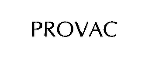 mark for PROVAC, trademark #76320041