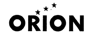 mark for ORION, trademark #76322679