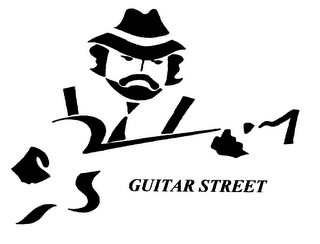 mark for GUITAR STREET, trademark #76323088