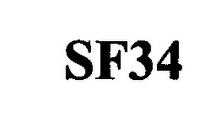 mark for SF34, trademark #76324032