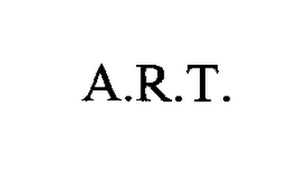mark for A.R.T., trademark #76326431