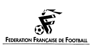mark for F FEDERATION FRANCAISE DE FOOTBALL, trademark #76326736
