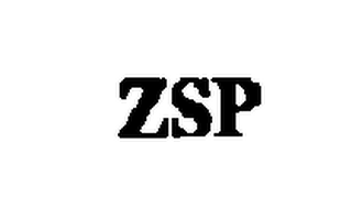 mark for ZSP, trademark #76327239