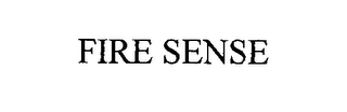 mark for FIRE SENSE, trademark #76327547