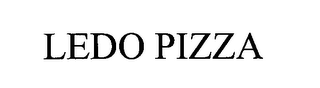 mark for LEDO PIZZA, trademark #76328528