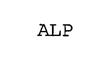 mark for ALP, trademark #76328782