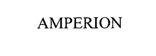 mark for AMPERION, trademark #76329941