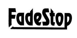 mark for FADESTOP, trademark #76331005