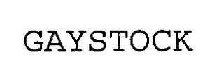 mark for GAYSTOCK, trademark #76331168
