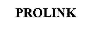 mark for PROLINK, trademark #76332618
