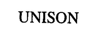 mark for UNISON, trademark #76333908