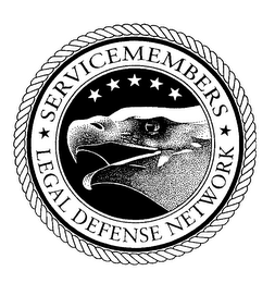 mark for SERVICEMEMBERS LEGAL DEFENSE NETWORK, trademark #76334587