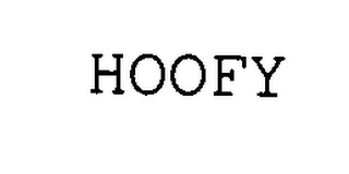 mark for HOOFY, trademark #76334911