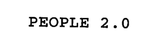 mark for PEOPLE 2.0, trademark #76336101