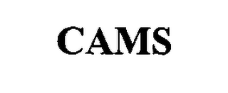 mark for CAMS, trademark #76336483