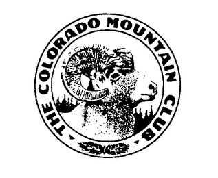 mark for THE COLORADO MOUNTAIN CLUB, trademark #76336514