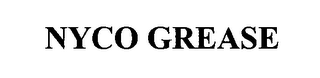 mark for NYCO GREASE, trademark #76337030