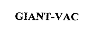 mark for GIANT-VAC, trademark #76337268