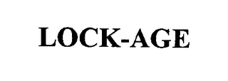 mark for LOCK-AGE, trademark #76338081
