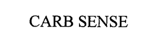 mark for CARB SENSE, trademark #76338203
