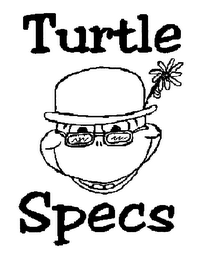 mark for TURTLE SPECS, trademark #76338584
