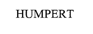 mark for HUMPERT, trademark #76338832