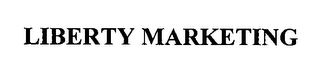 mark for LIBERTY MARKETING, trademark #76339124