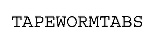 mark for TAPE WORM TABS, trademark #76339495