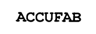 mark for ACCUFAB, trademark #76339583